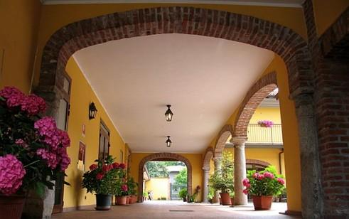 Entrata Hotel Italia, Certosa di Pavia